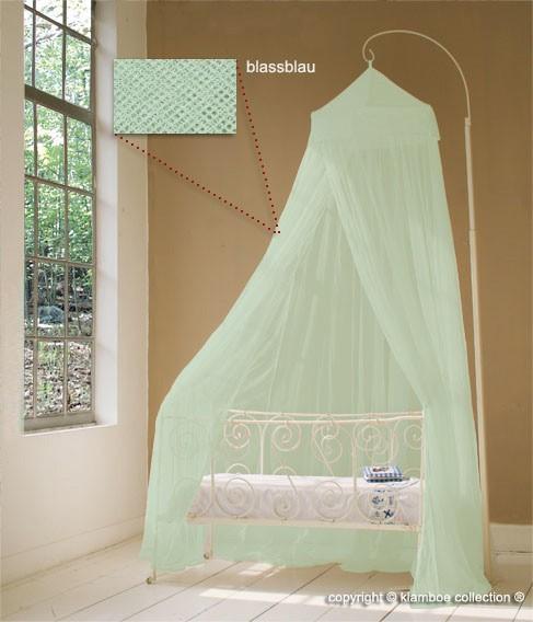 baldachin f r kinderzimmer in hellblau oder t rkis 60 cm. Black Bedroom Furniture Sets. Home Design Ideas