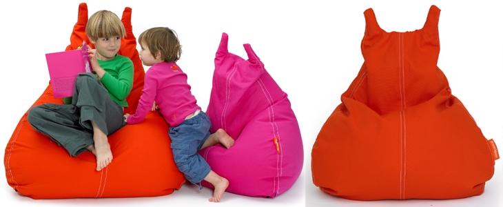 sitzsack f r kinder die vielseitige und originelle. Black Bedroom Furniture Sets. Home Design Ideas
