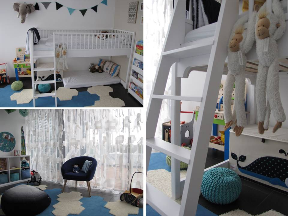 Kinderzimmer In Türkis | Ein Neues Kinderzimmer Fur L A