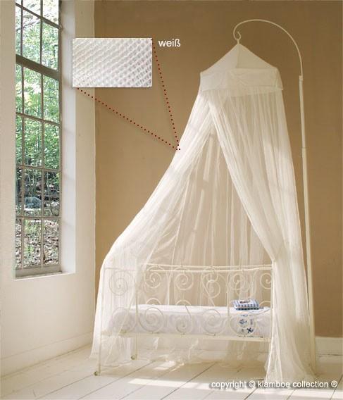 baldachin f r kinderzimmer in weiss oder natur 60 cm x 240 cm. Black Bedroom Furniture Sets. Home Design Ideas