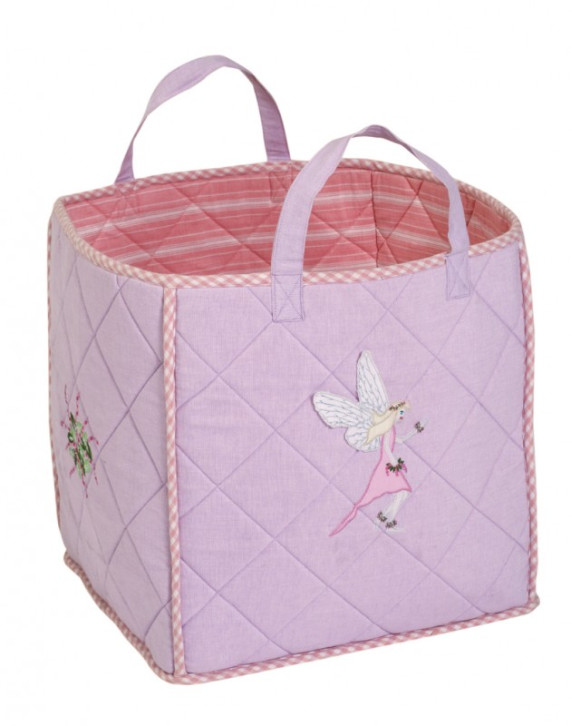 grosse spielzeugtasche fairy aus stoff f r die. Black Bedroom Furniture Sets. Home Design Ideas