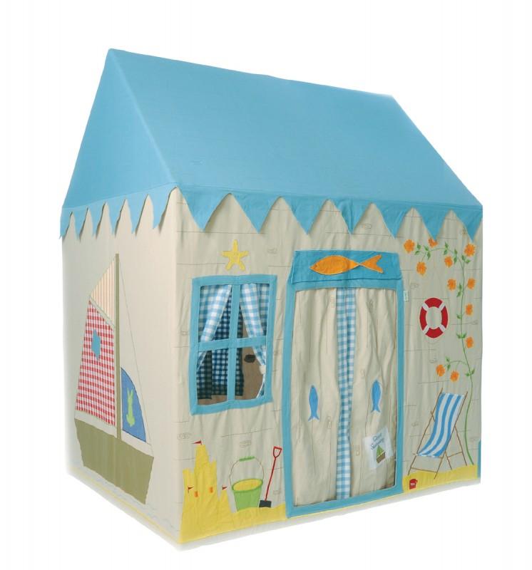 kinderspielhaus aus stoff bootshaus wundersch n und einzigartig in 2 gr ssen von win green. Black Bedroom Furniture Sets. Home Design Ideas