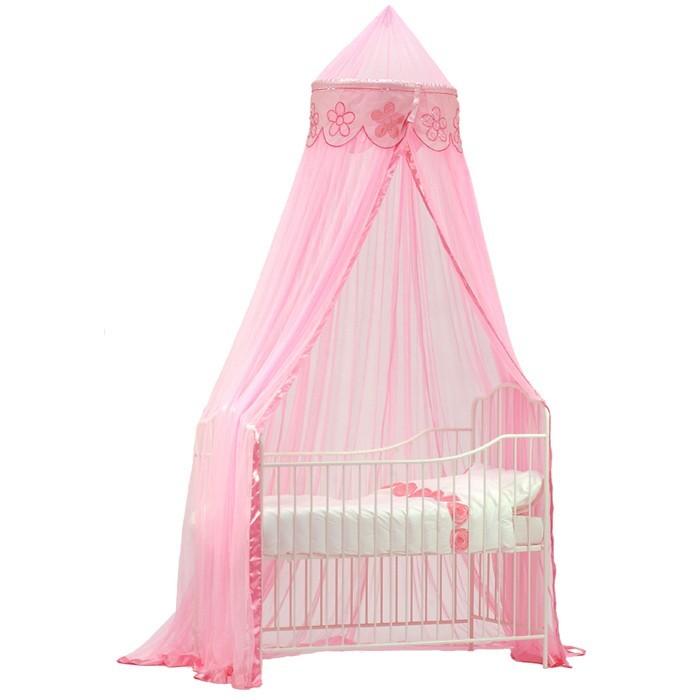 rosa betthimmel kinderzimmer – quartru
