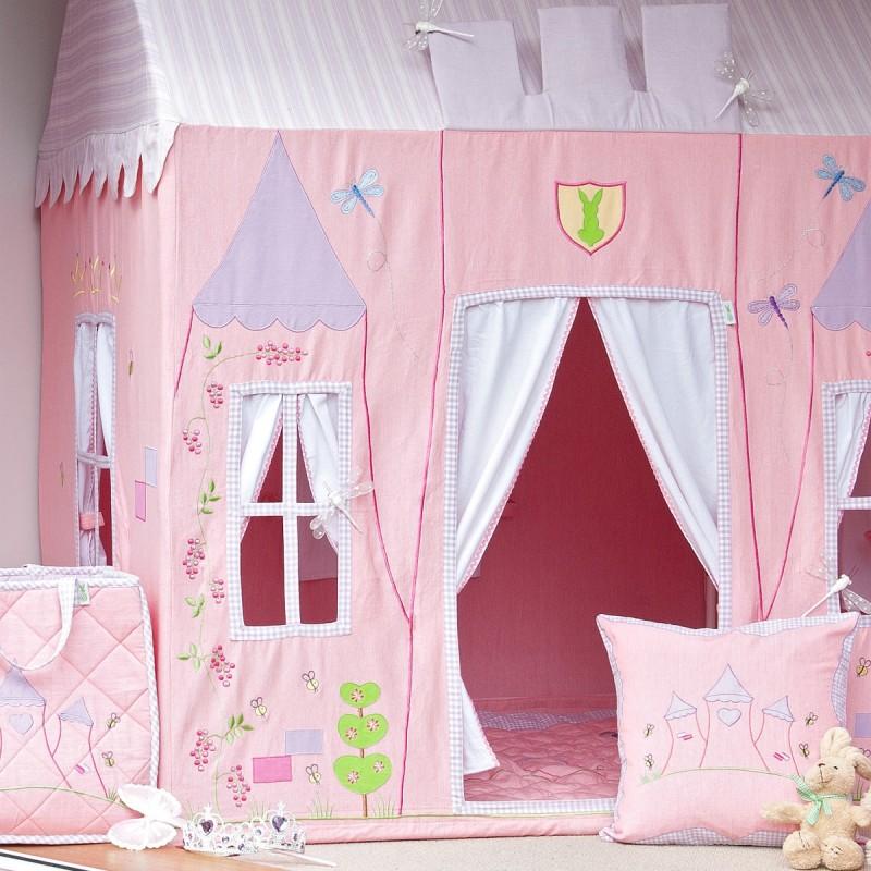 kinderspielhaus aus stoff prinzessin zauberhaft und einzigartig in 2 gr ssen von win green. Black Bedroom Furniture Sets. Home Design Ideas