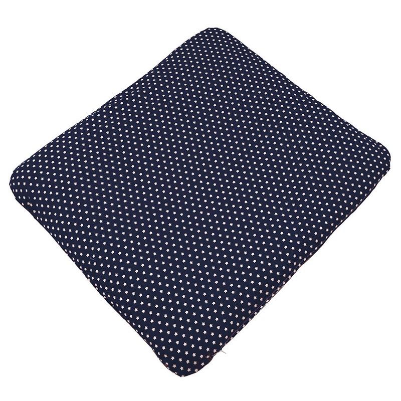 wickelauflage mit weichem inlet und waschbarem bezug dunkelblau mit wei en sternen. Black Bedroom Furniture Sets. Home Design Ideas