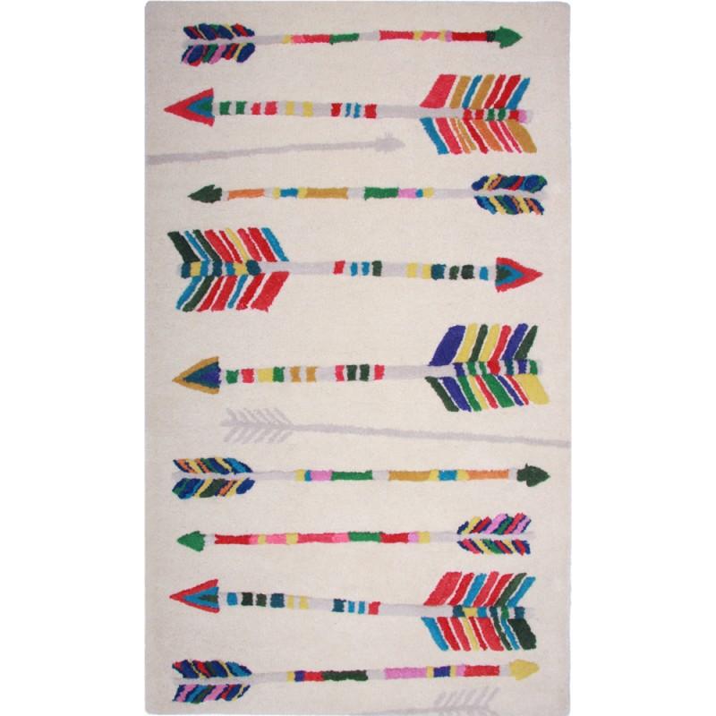 Indianer Kinderteppich Arrow mit Pfeilen, 80 x 140 cm