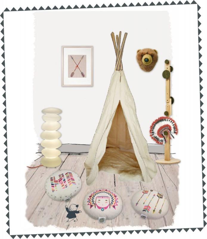 kinder bodenkissen tribal baumwolle durchmesser 40 cm. Black Bedroom Furniture Sets. Home Design Ideas