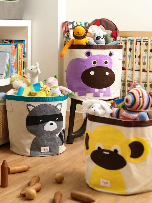 aufbewahrung im kinderzimmer grosser aufbewahrungskorb. Black Bedroom Furniture Sets. Home Design Ideas