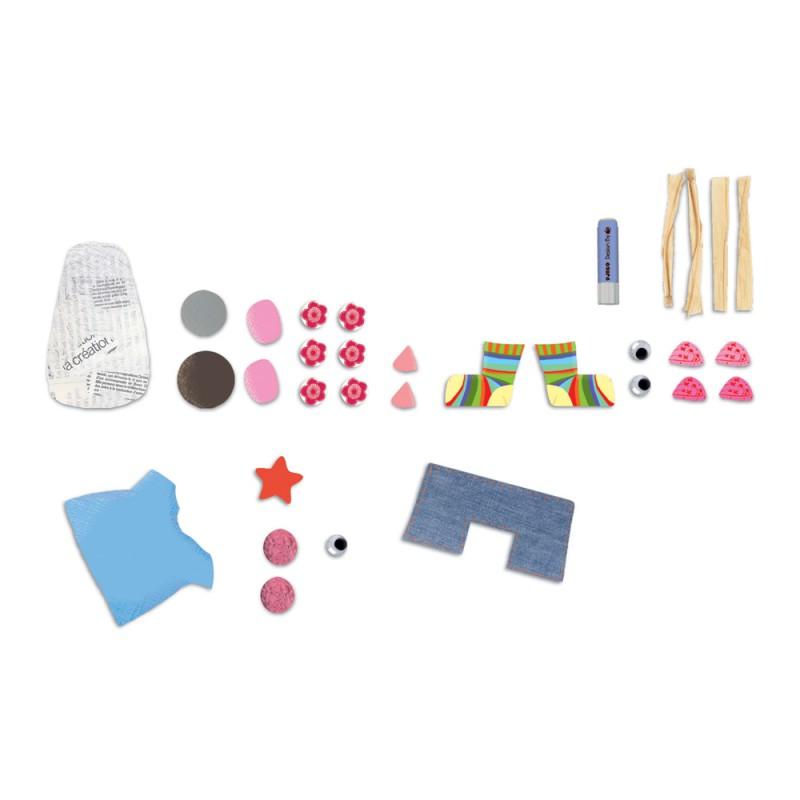 kreativset f r kinder meine ersten collagen ab 3 jahren von djeco. Black Bedroom Furniture Sets. Home Design Ideas
