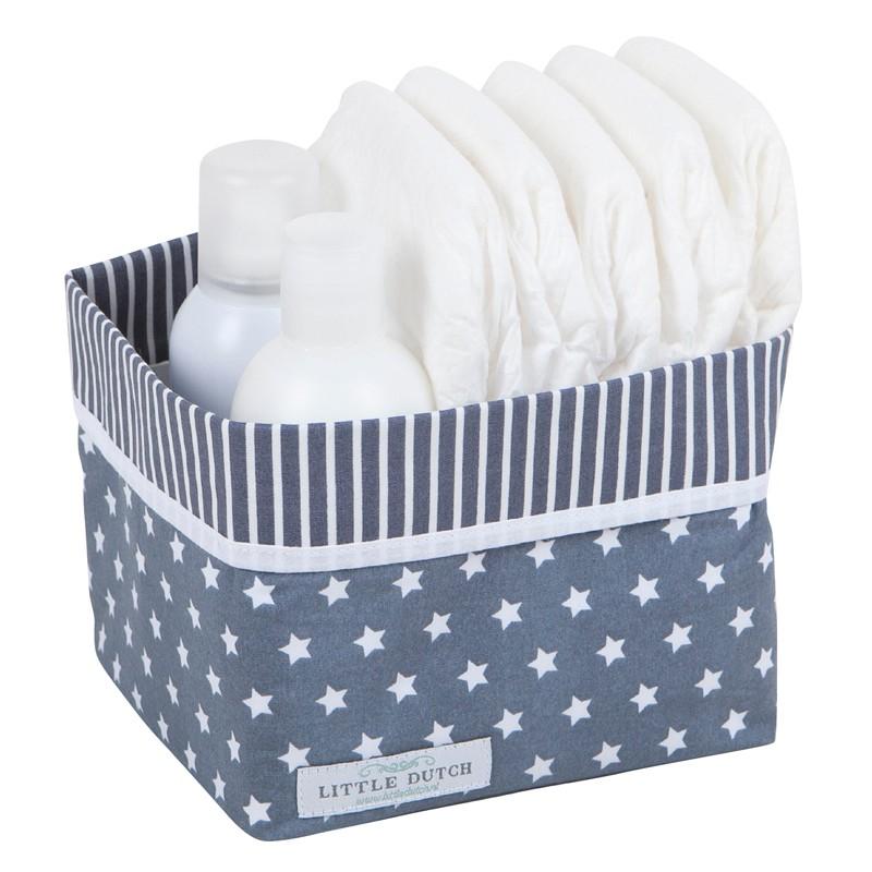 3164 aufbewahrung babyzimmer utensilo stern weiss grau 1.jpg