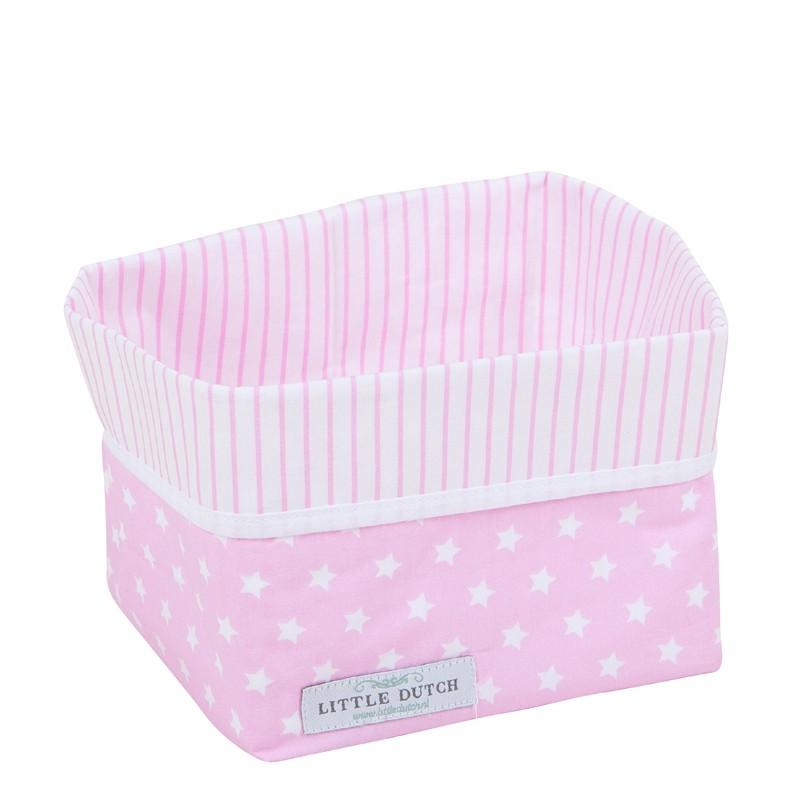 Herrliche aufbewahrung im kinderzimmer, rosa utensilo mit weißen ...