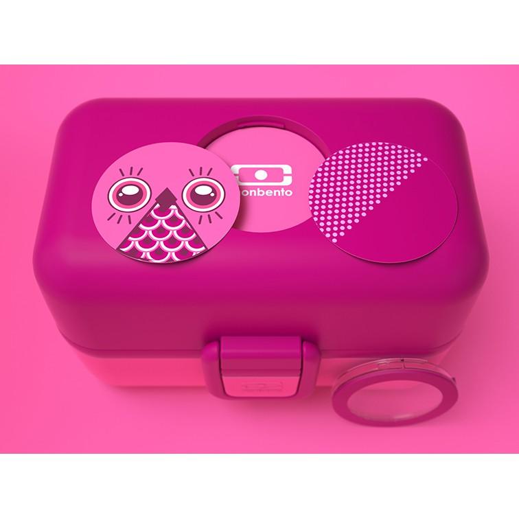 tolle kinder lunchbox bento box mb tresor pink von monbento. Black Bedroom Furniture Sets. Home Design Ideas