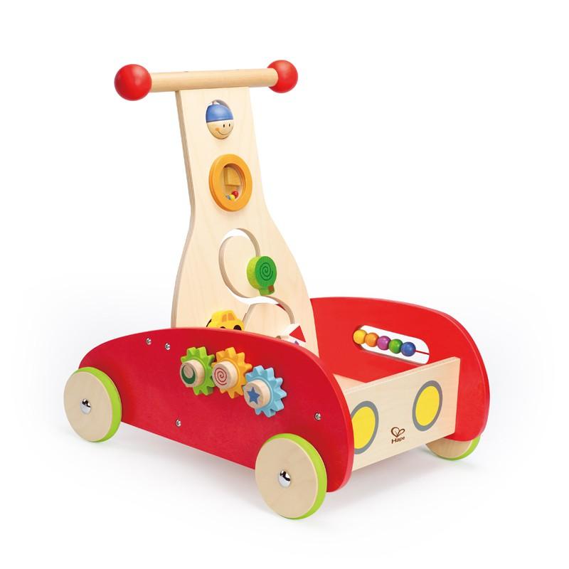 Puppenwagen Holz Ab 12 Monate ~   Lauflernwagen, Wonder Walker, aus Holz, ab 12 Monate, von Hape