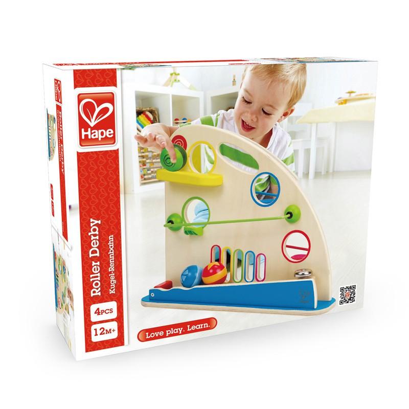 Puppenwagen Holz Ab 12 Monate ~ Fantasievolle Kugelrennbahn, ab 12 Monate, aus Holz, von Hape