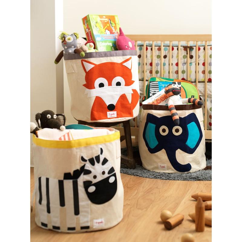 aufbewahrung im kinderzimmer grosse spielzeugtasche. Black Bedroom Furniture Sets. Home Design Ideas