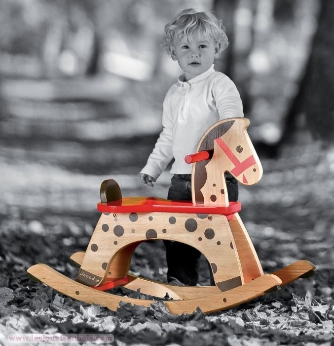 Holz Schaukelpferd Spiel Gut ~ Pin Nic Holz Schaukelpferd Natur Mit Lehne Schaukelpferde on Pinterest