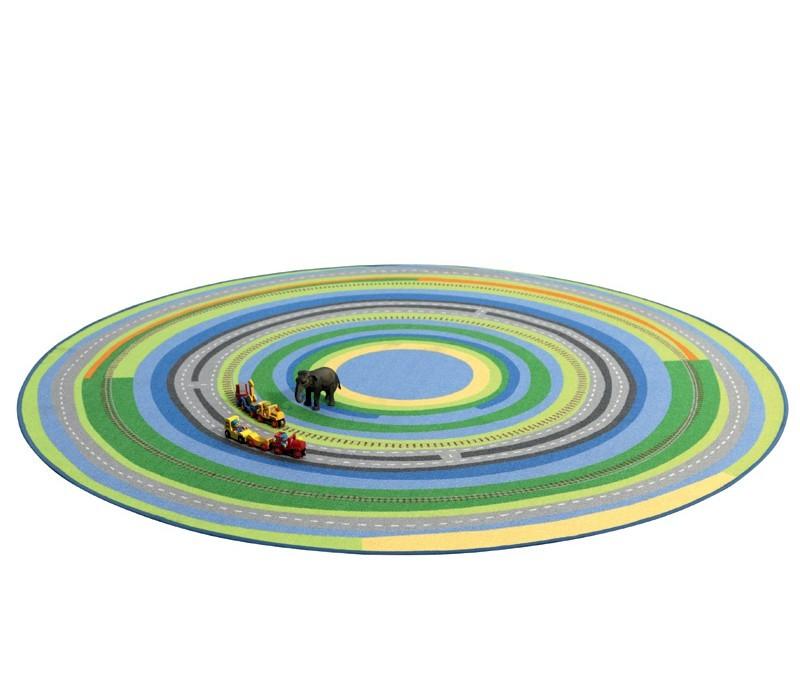 Kinderteppich und Spielteppich mit wundervoller Landschaft